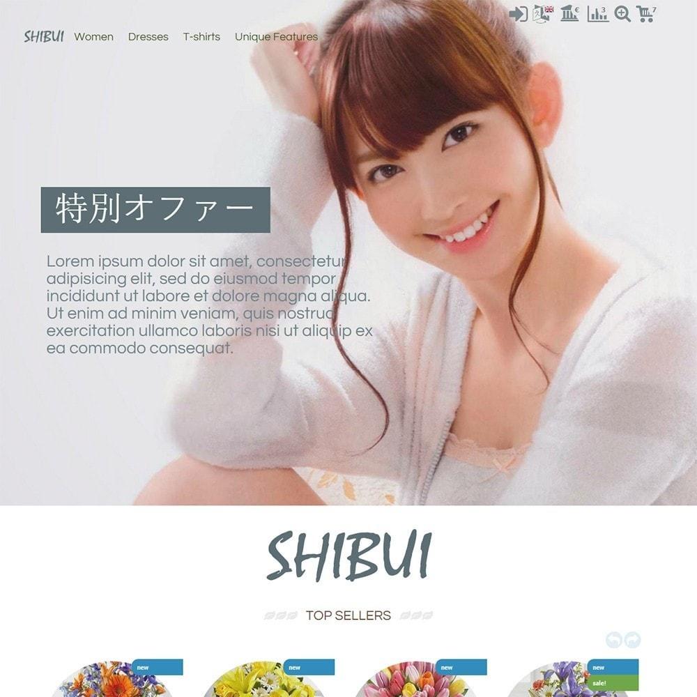 theme - Presentes, Flores & Comemorações - Shibui - 2