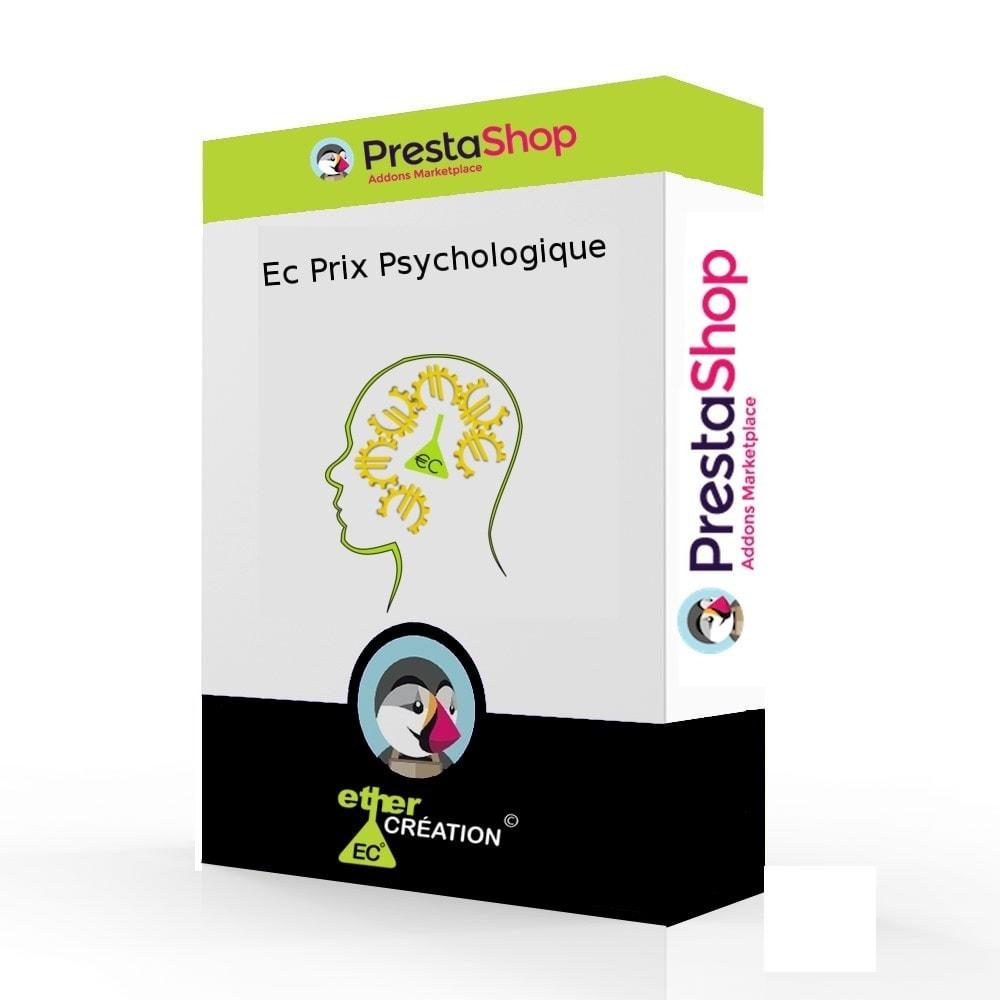 module - Gestion des Prix - Prix psychologique : tous vos prix au meilleurs prix - 1