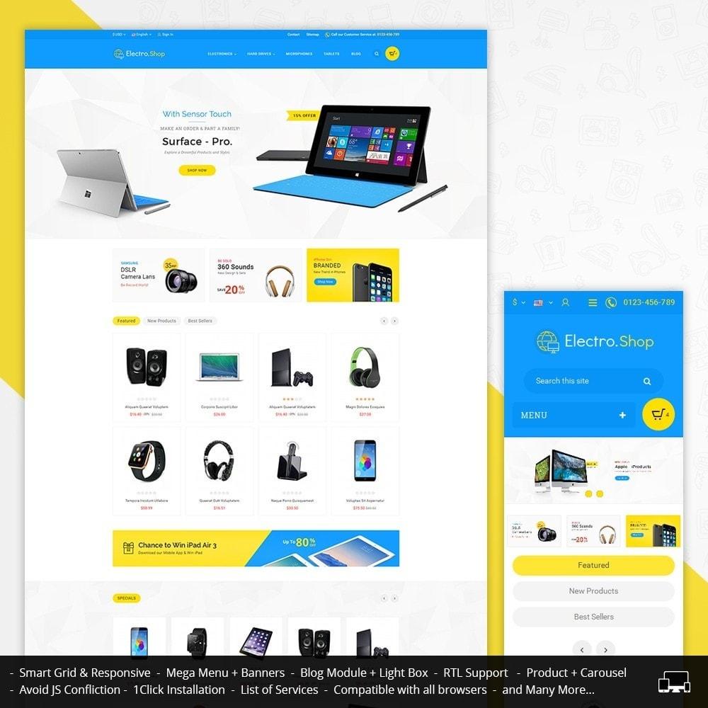 theme - Электроника и компьютеры - Electronics Store - 1
