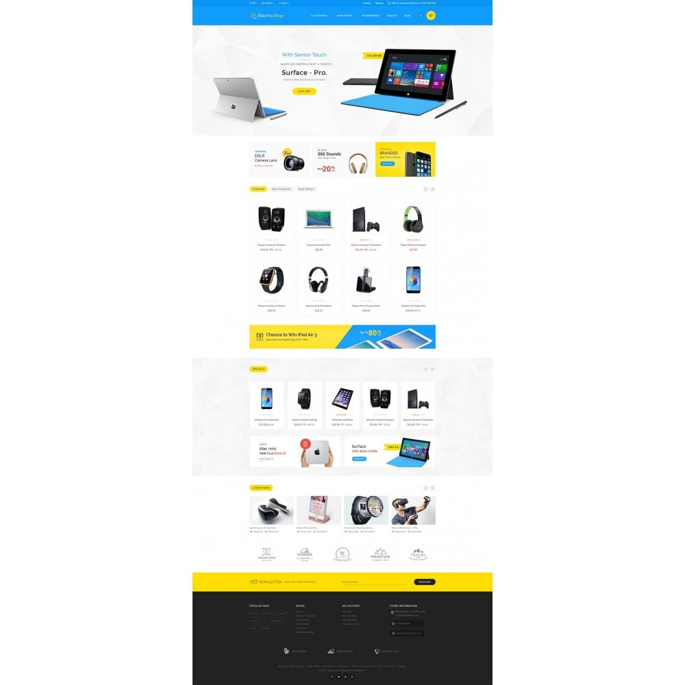 theme - Электроника и компьютеры - Electronics Store - 2