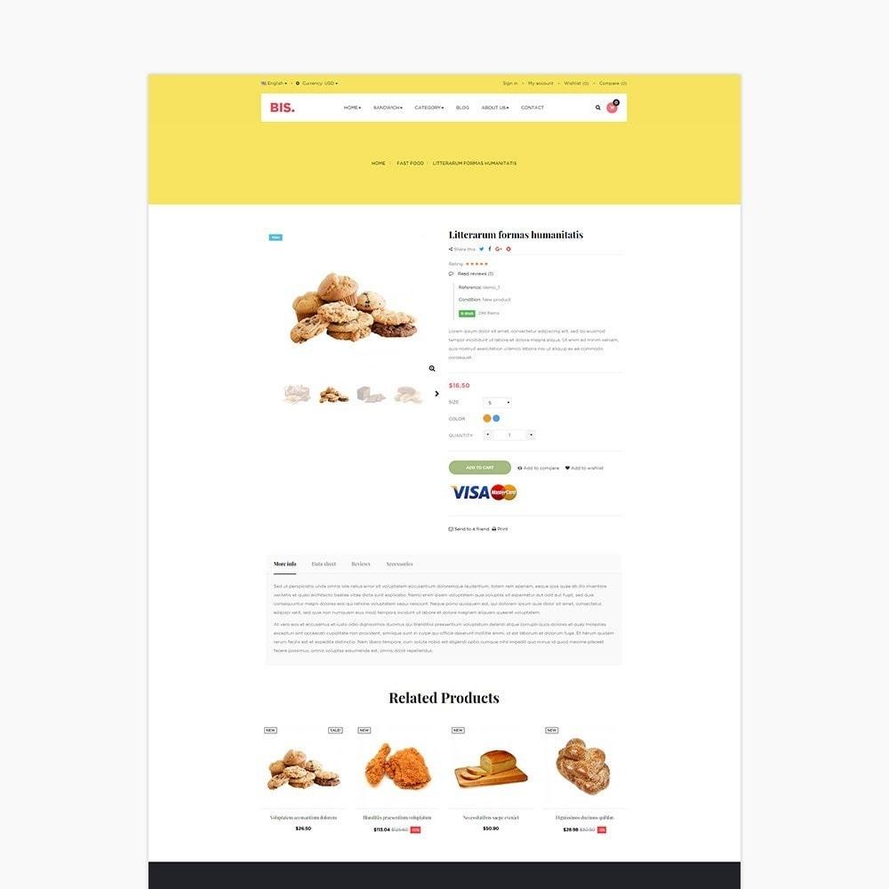 theme - Alimentation & Restauration - Leo Bis - 4