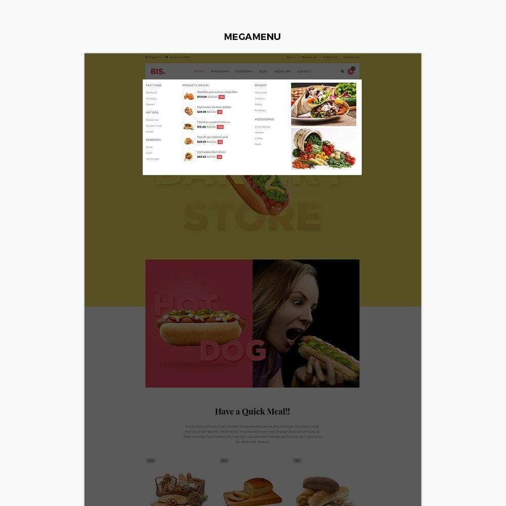 theme - Alimentation & Restauration - Leo Bis - 5