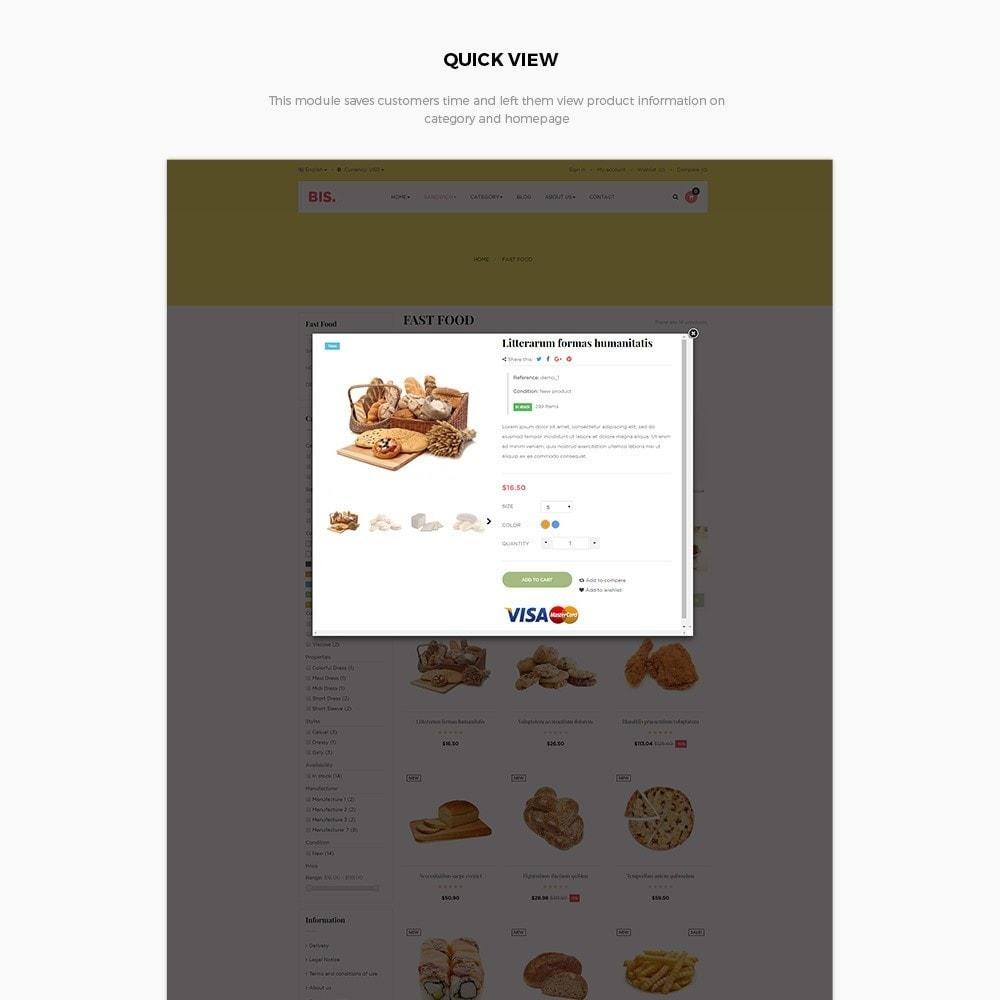 theme - Alimentation & Restauration - Leo Bis - 6