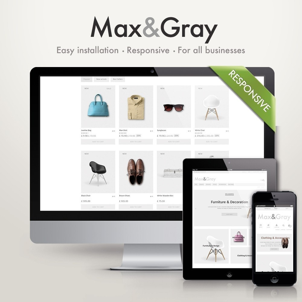 theme - Mode & Chaussures - Max&Gray - 1