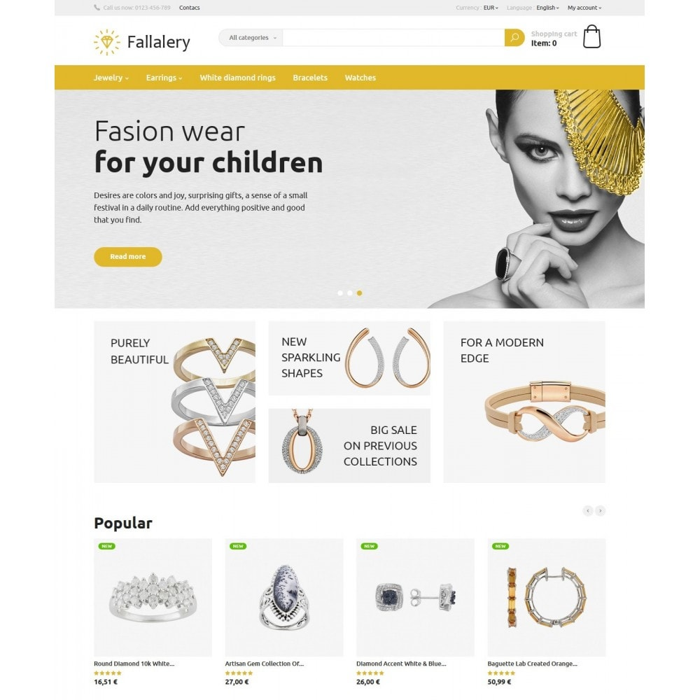 theme - Jewelry & Accessories - Fallalery Shop - 2