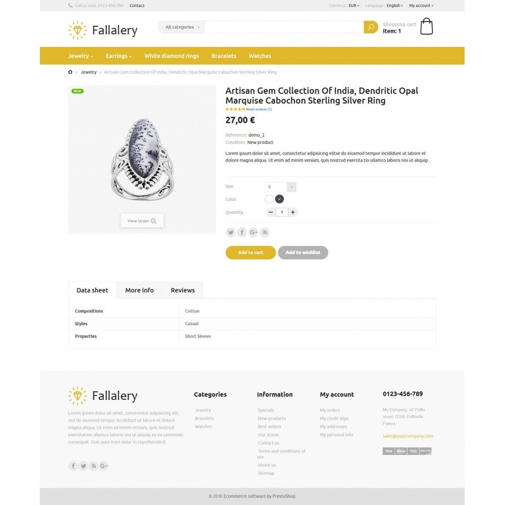 theme - Jewelry & Accessories - Fallalery Shop - 5