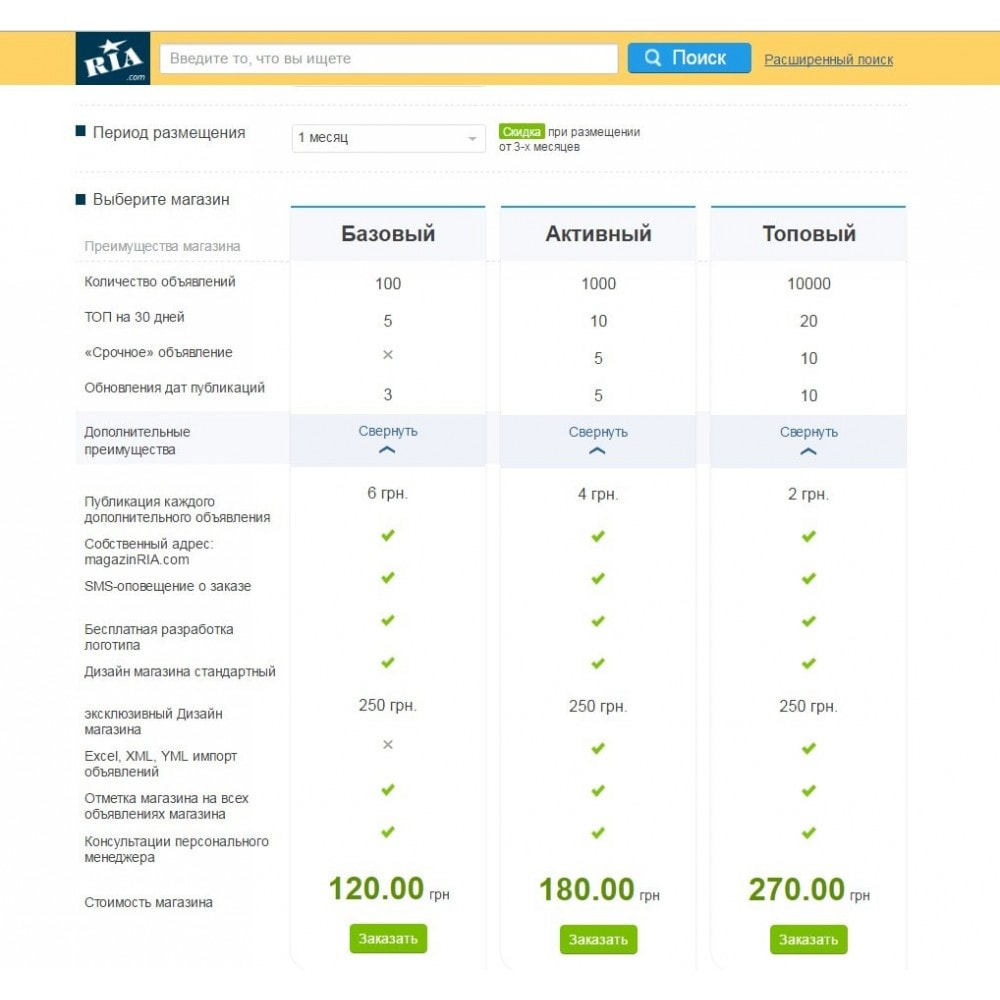 module - Marketplace - Ria.ua Connector - 4