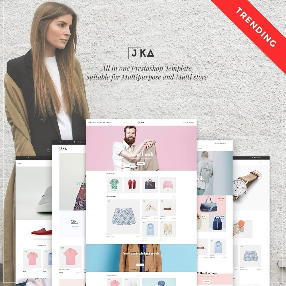 theme - Moda y Calzado - Leo Jka - Clothing, Bags & Watch - 1