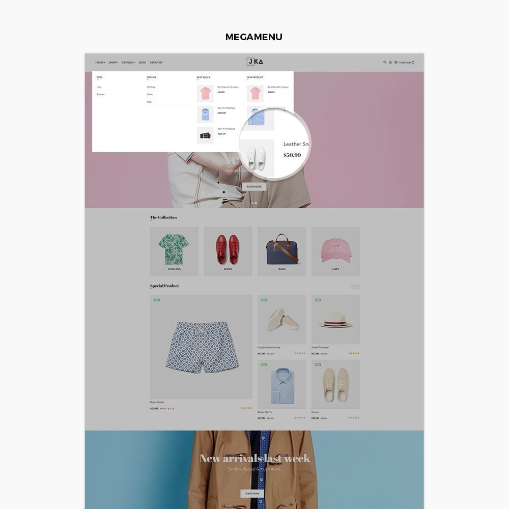 theme - Moda y Calzado - Leo Jka - Clothing, Bags & Watch - 5