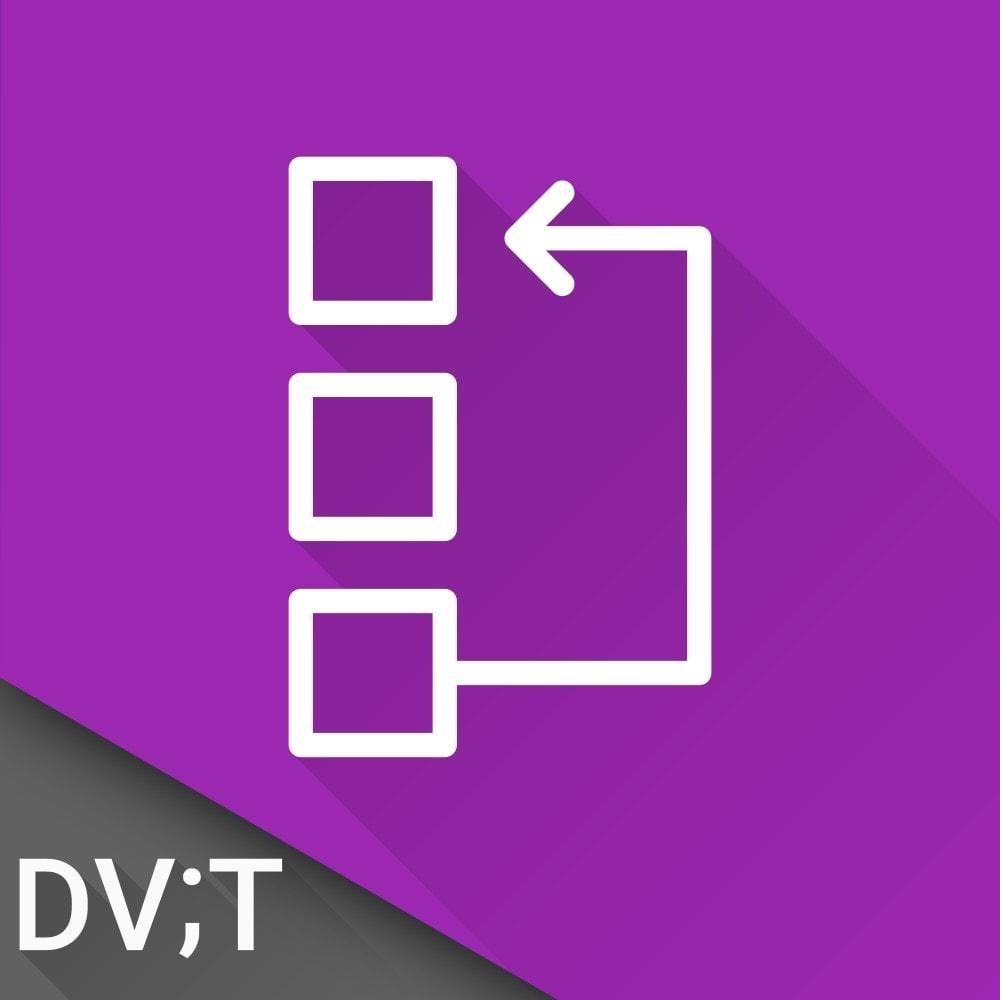 module - Tool di navigazione - Lists Navigator - 1