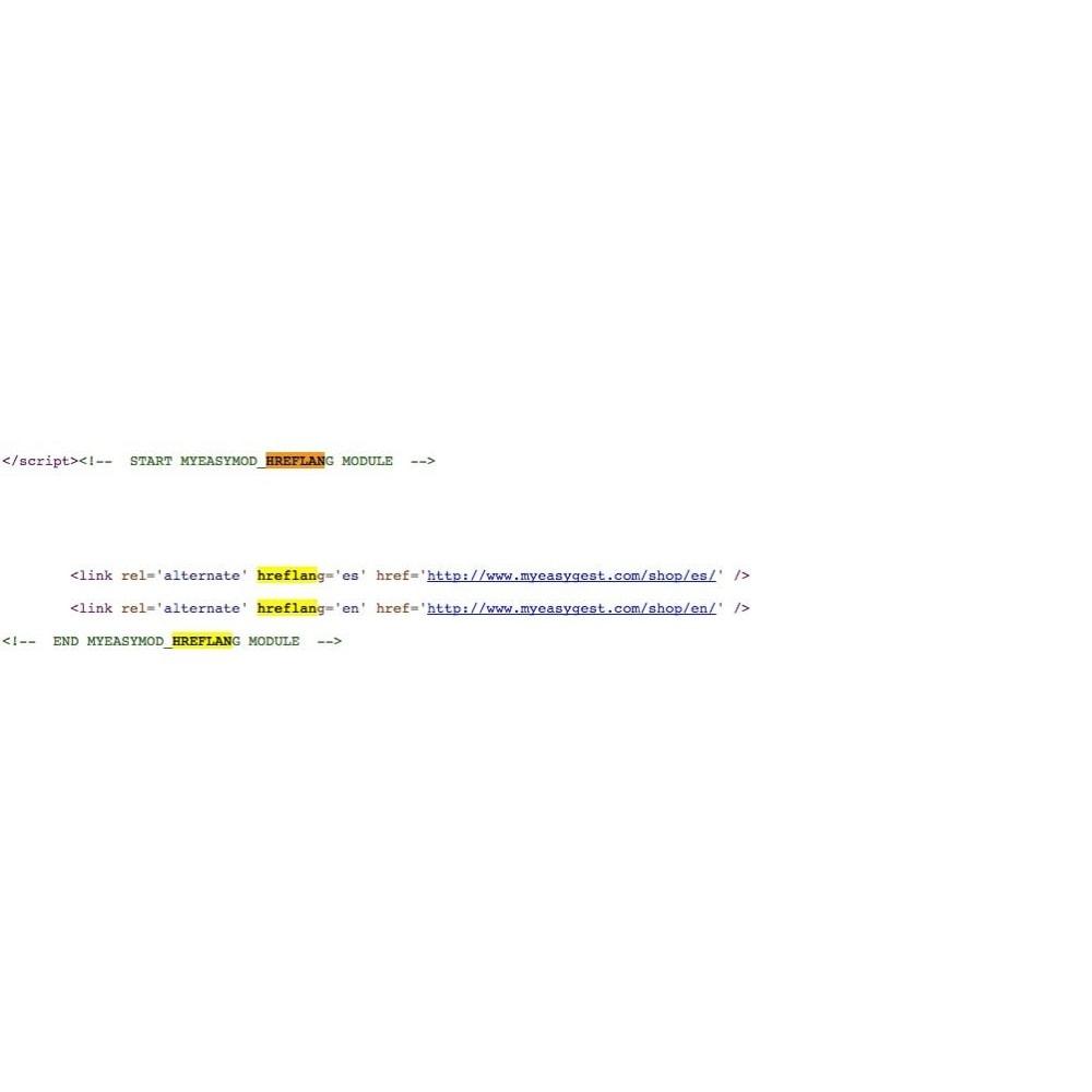 module - SEO (référencement naturel) - MyEasyMod hreflang - 3