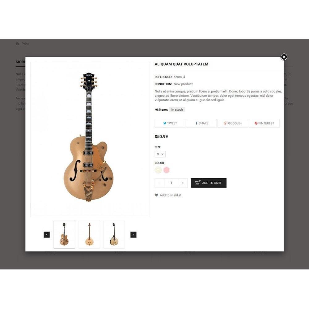 theme - Kultura & Sztuka - Music Instruments - 6
