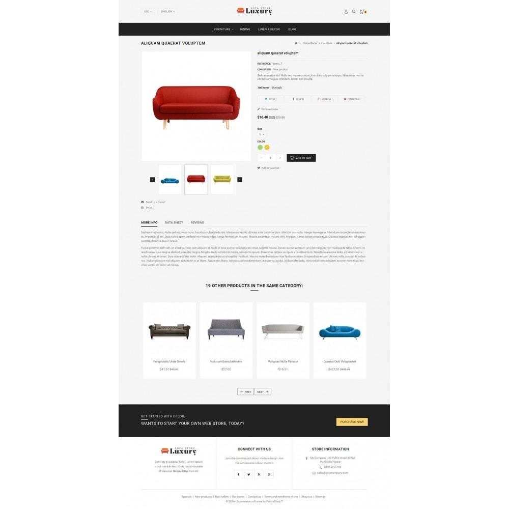 theme - Casa & Giardino - Luxury Sofa Store - 4