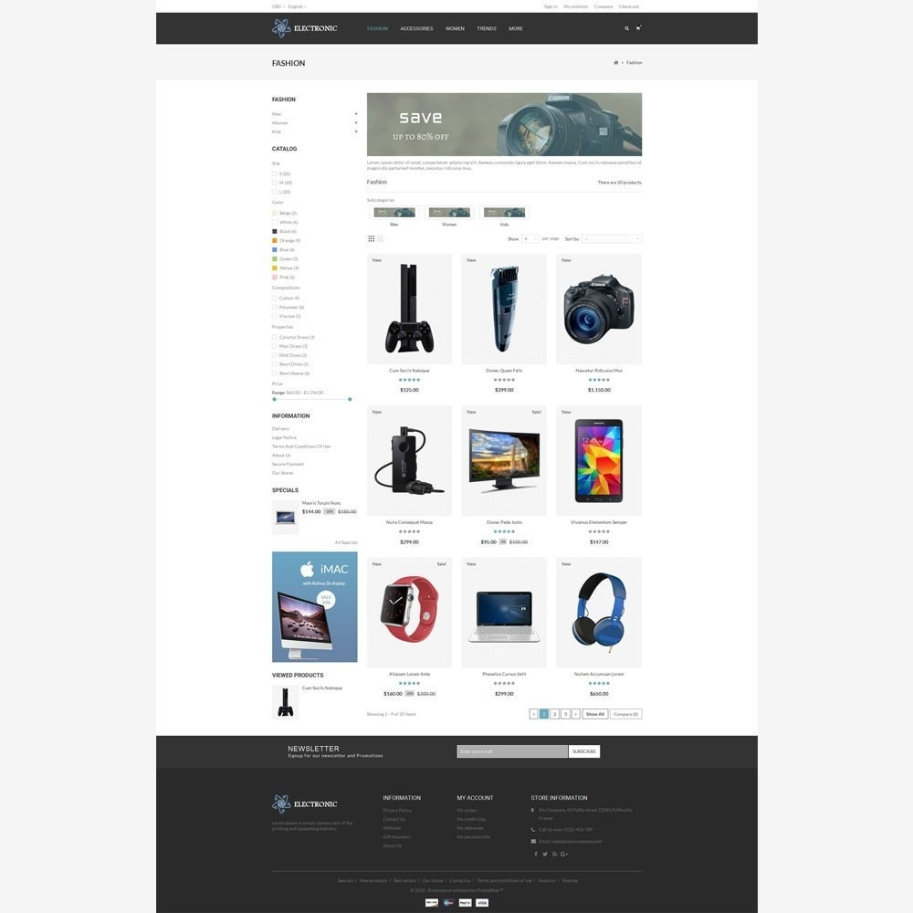 theme - Electronique & High Tech - Electronic Store - 3