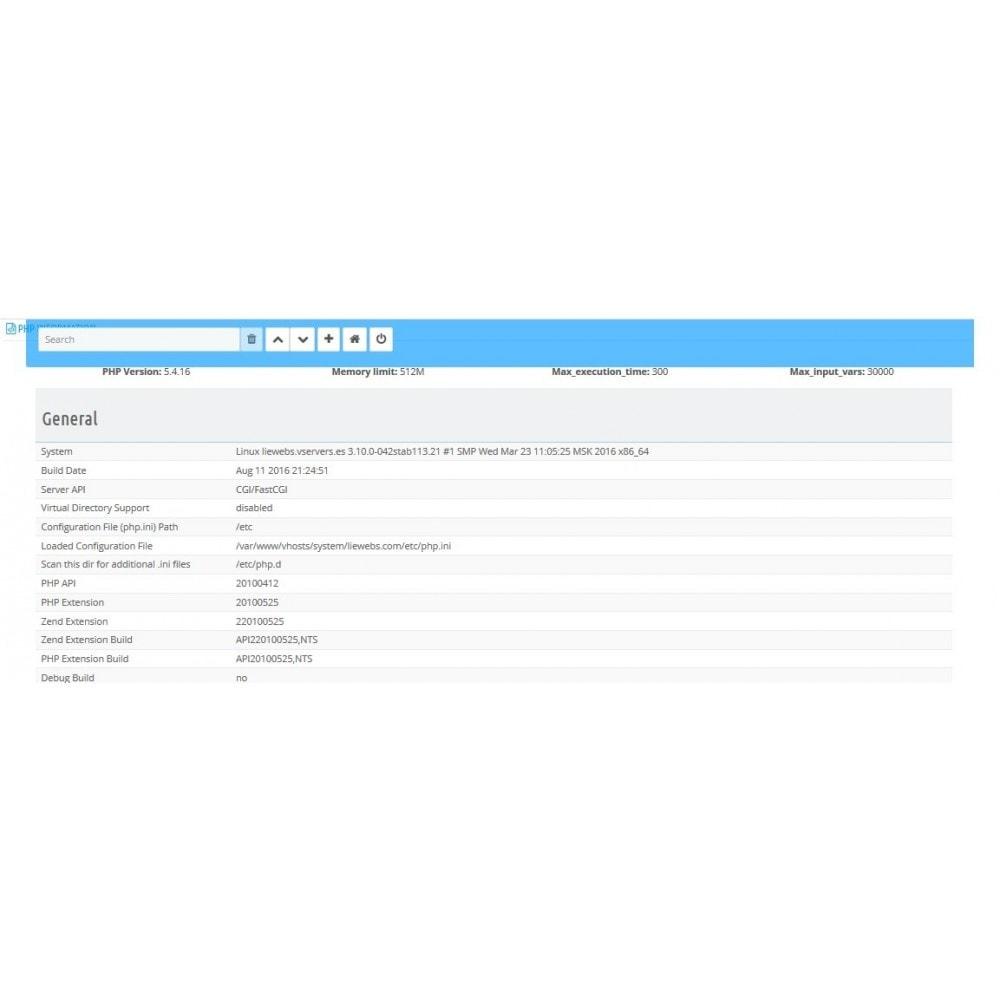 module - Rendimiento del sitio web - Security Booster - 12
