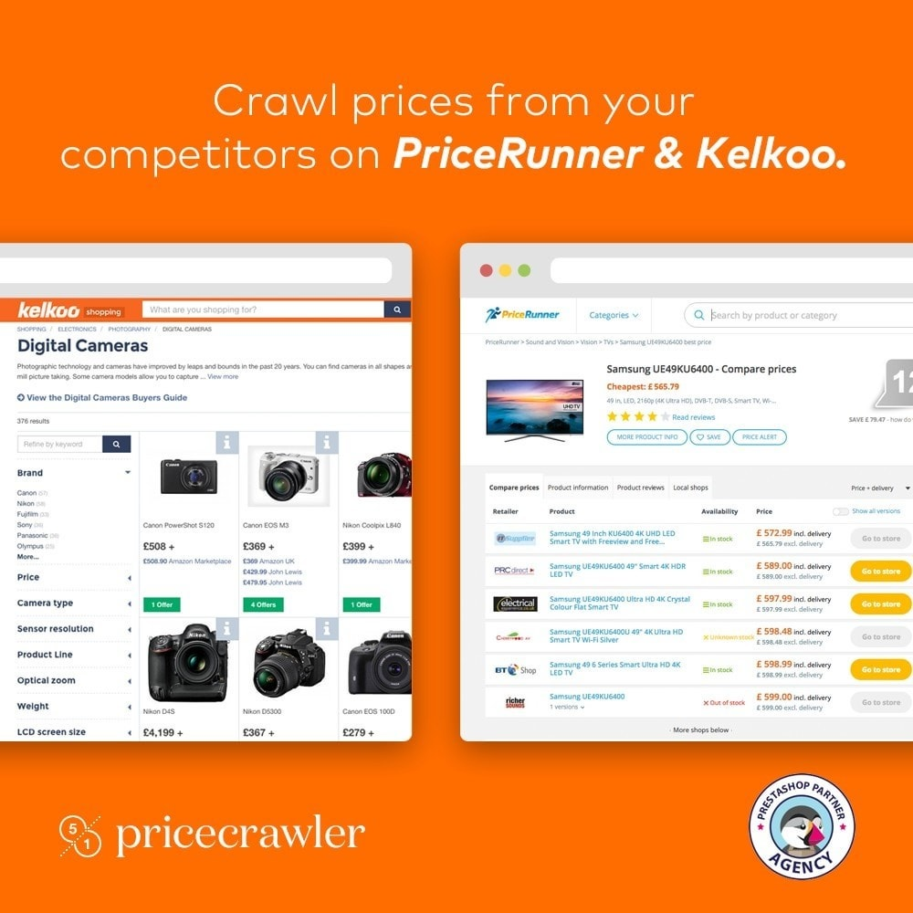 module - Price Comparison - Pricecrawler | Crawl prices from PriceRunner - 1