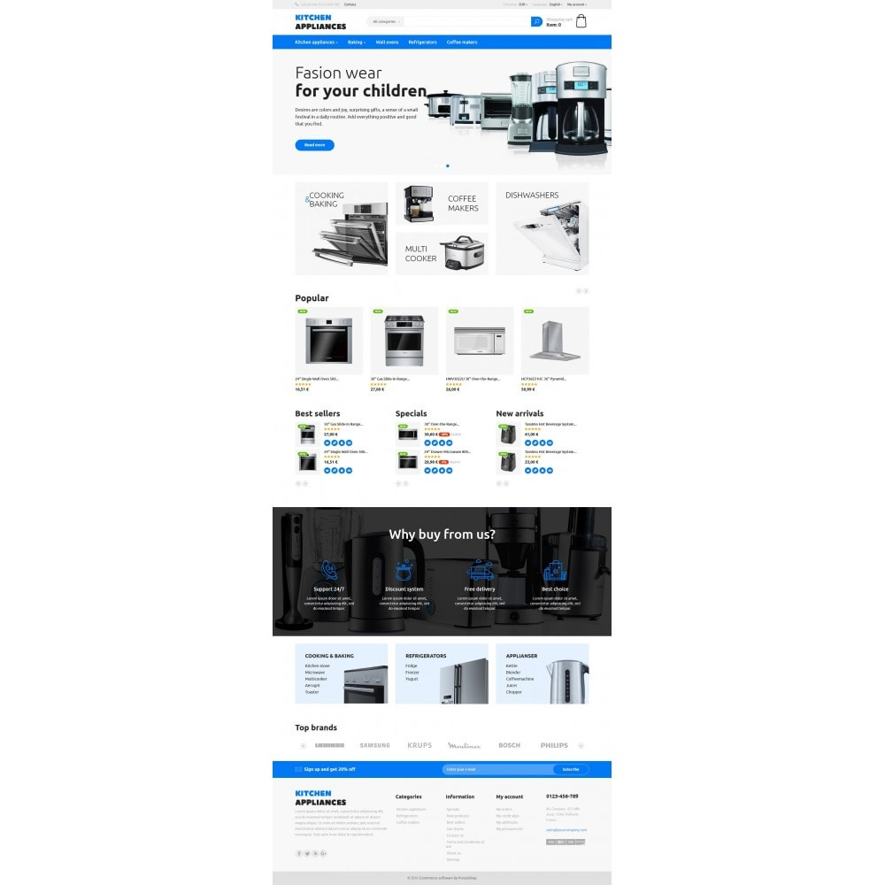 theme - Дом и сад - Kitchen Appliances - 8