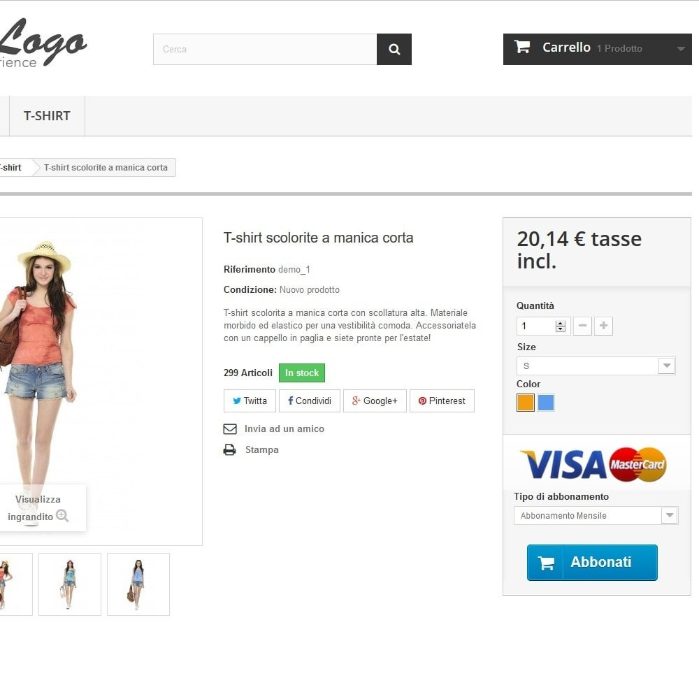 module - Pagamento con Carta di Credito o Wallet - PayPal Recurring. Vendi prodotti/servizi in abbonamento - 7