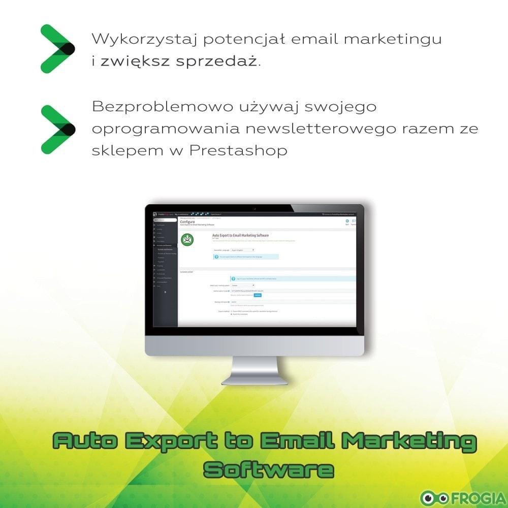 module - E-maile & Powiadomienia - Automatyczny eksport do listy adresowej - 1