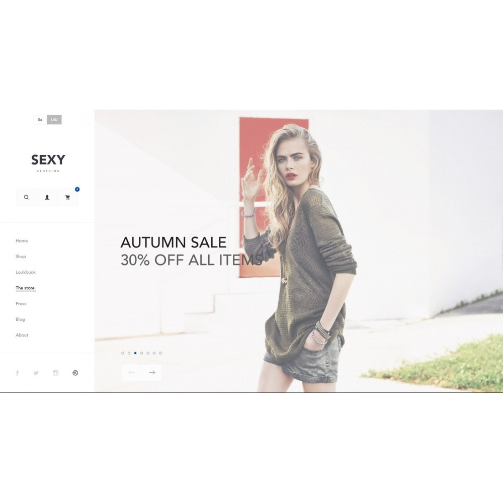 theme - Moda y Calzado - Sexy - Tienda De Lencería - 2