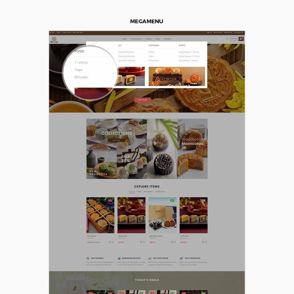 theme - Lebensmittel & Restaurants - Ap Moon Cake - 2