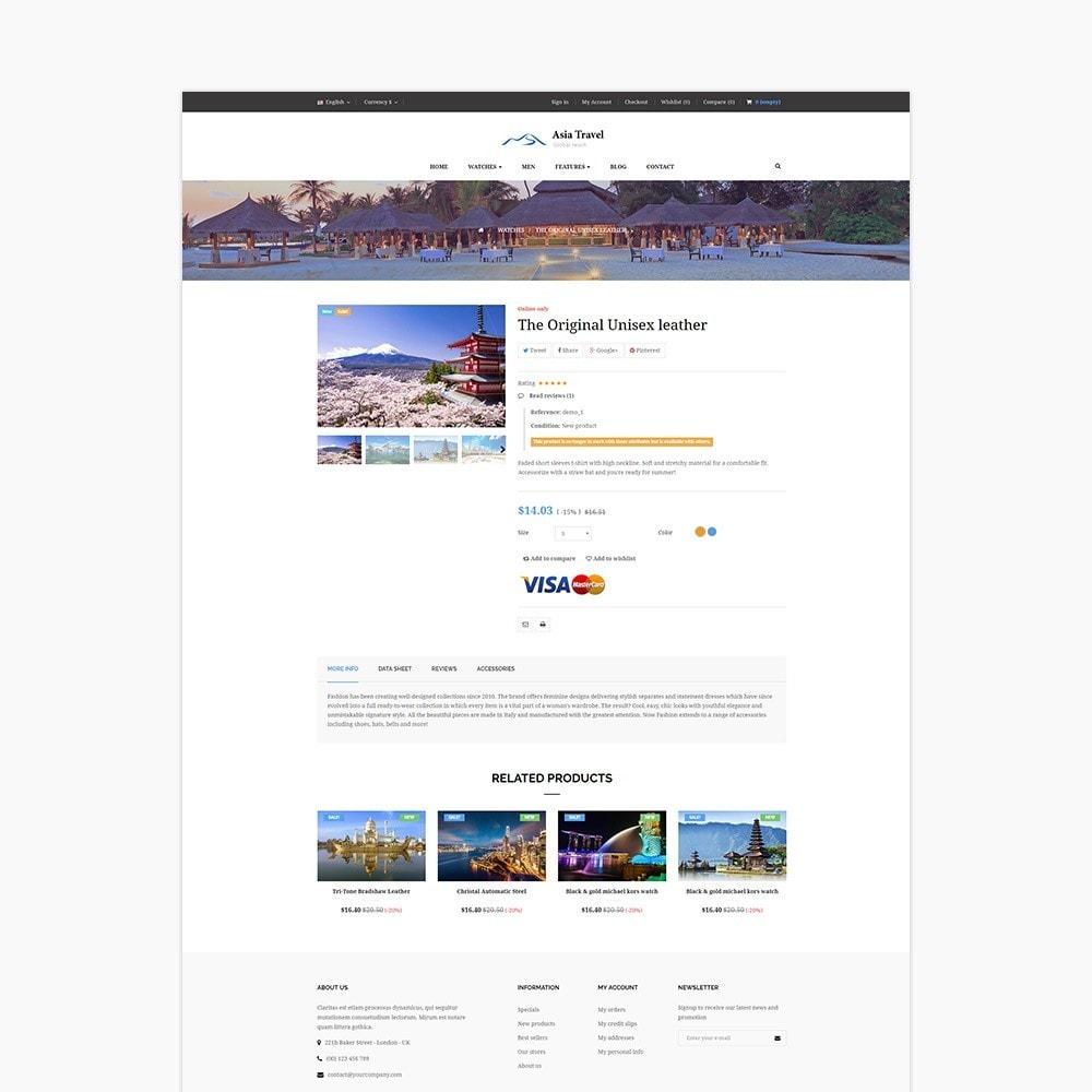 theme - Sport, Loisirs & Voyage - Ap Asia Travel - 6