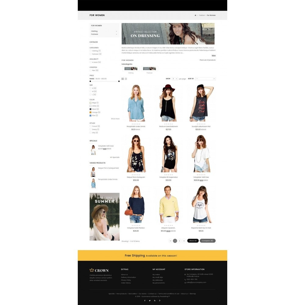 theme - Moda & Obuwie - Fashion Store - 3