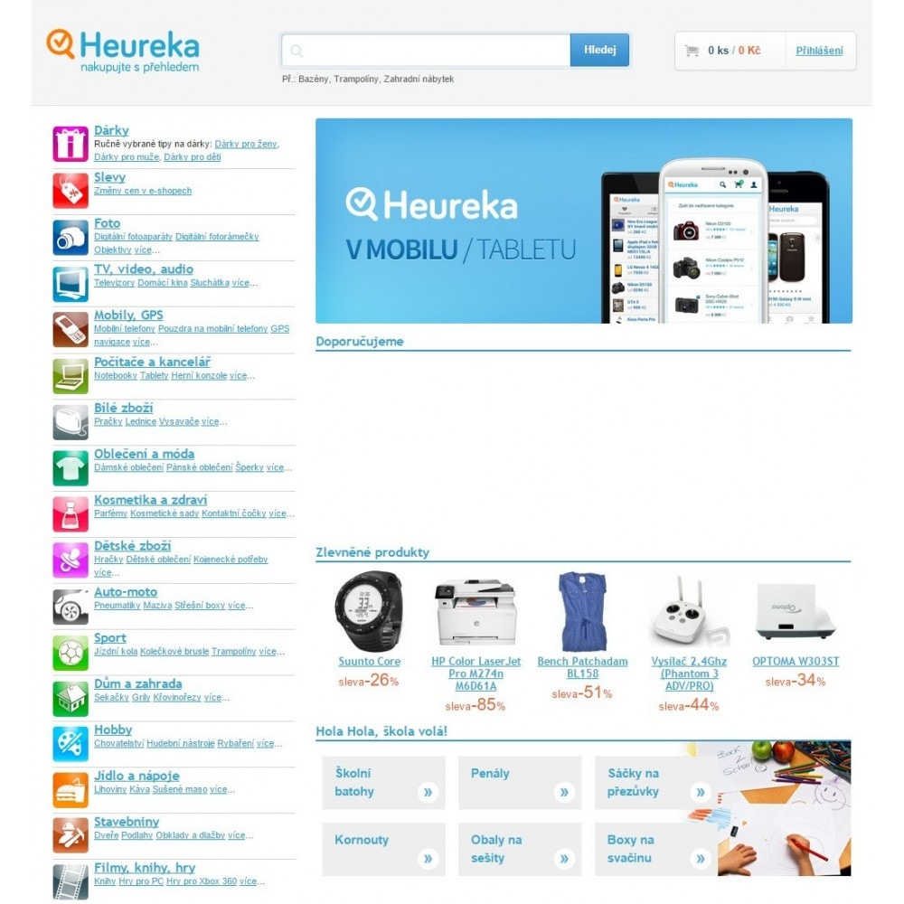 module - Сравнение цен - Heureka Connector - XML Product feed and conversions - 2