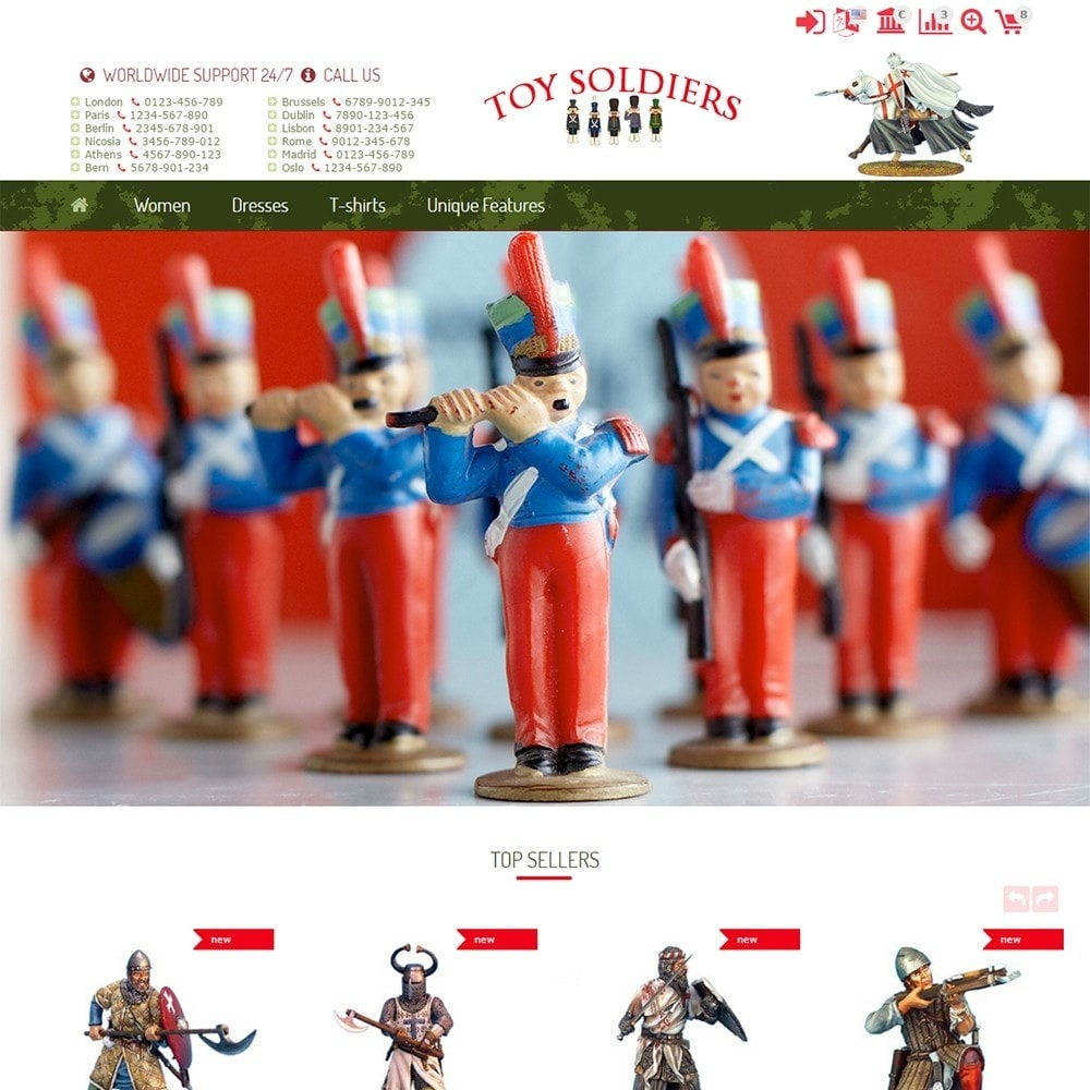 theme - Kids & Toys - Toy Soldiers - 2