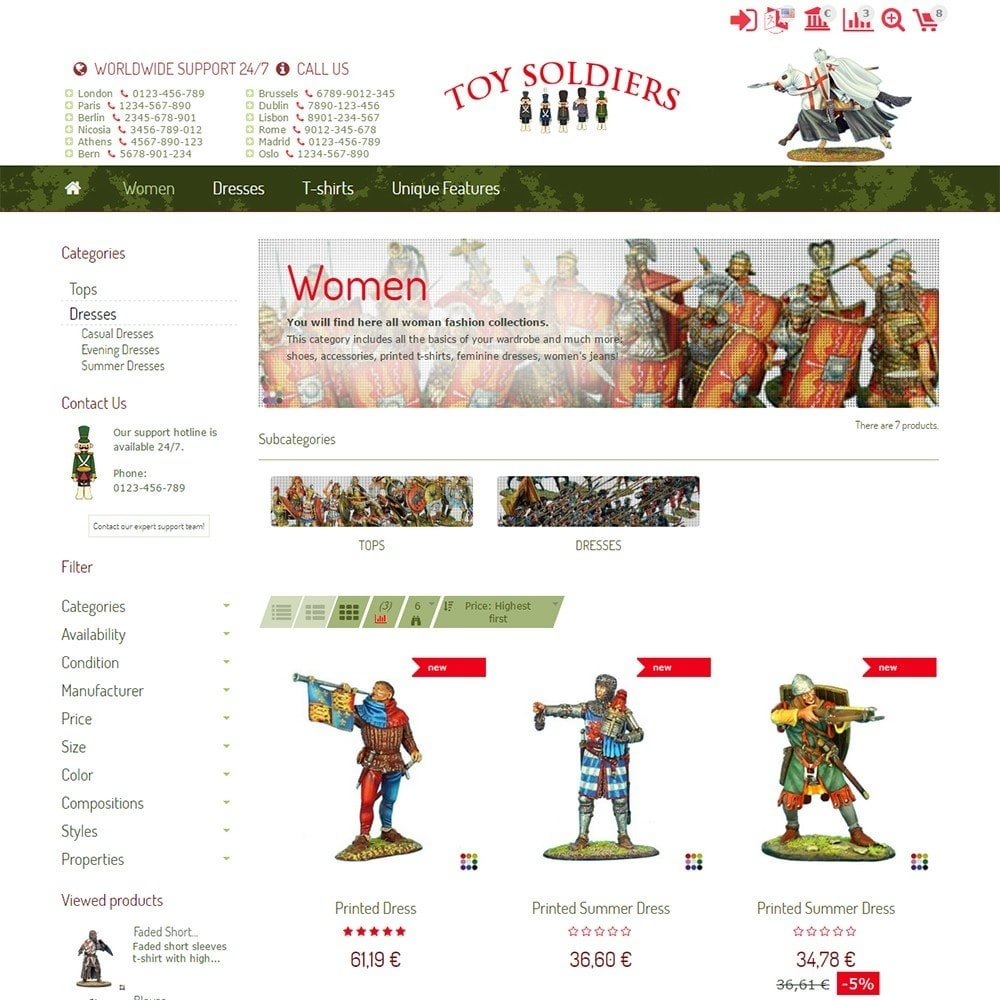 theme - Kids & Toys - Toy Soldiers - 3