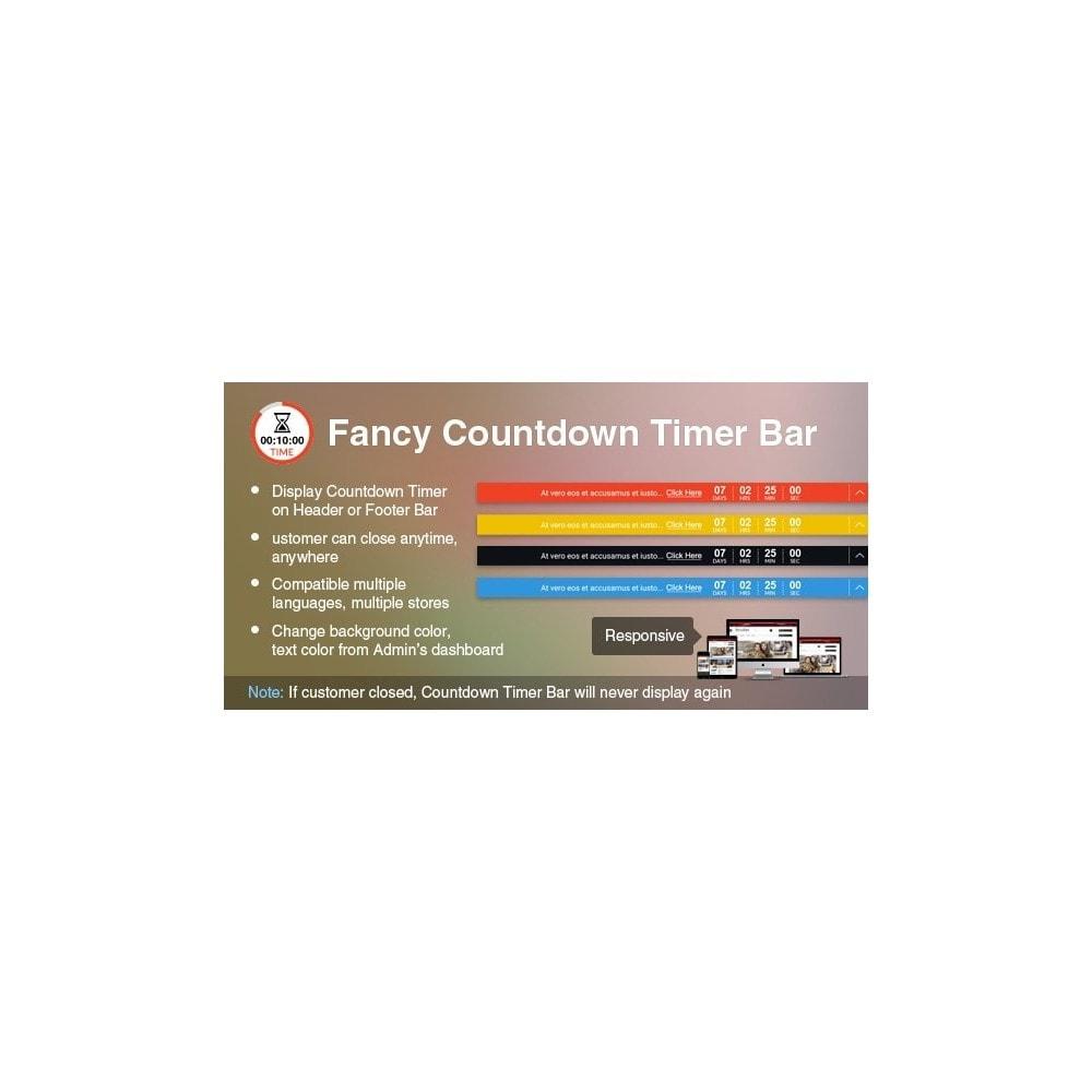module - Flash & Private Sales - Fancy Countdown Timer Bar Pro - 1