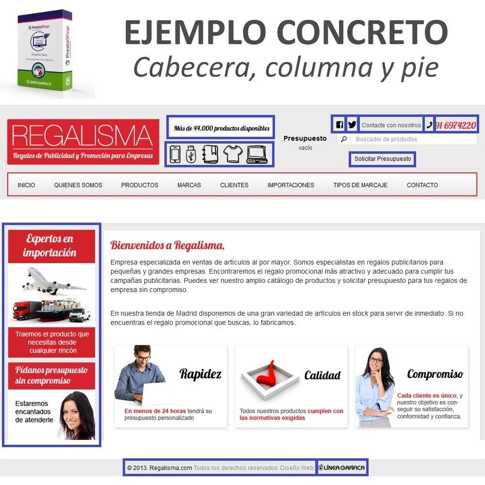 module - Personalización de la página - Diseño Fácil - Añadir Imágenes, Textos y Scripts - 8