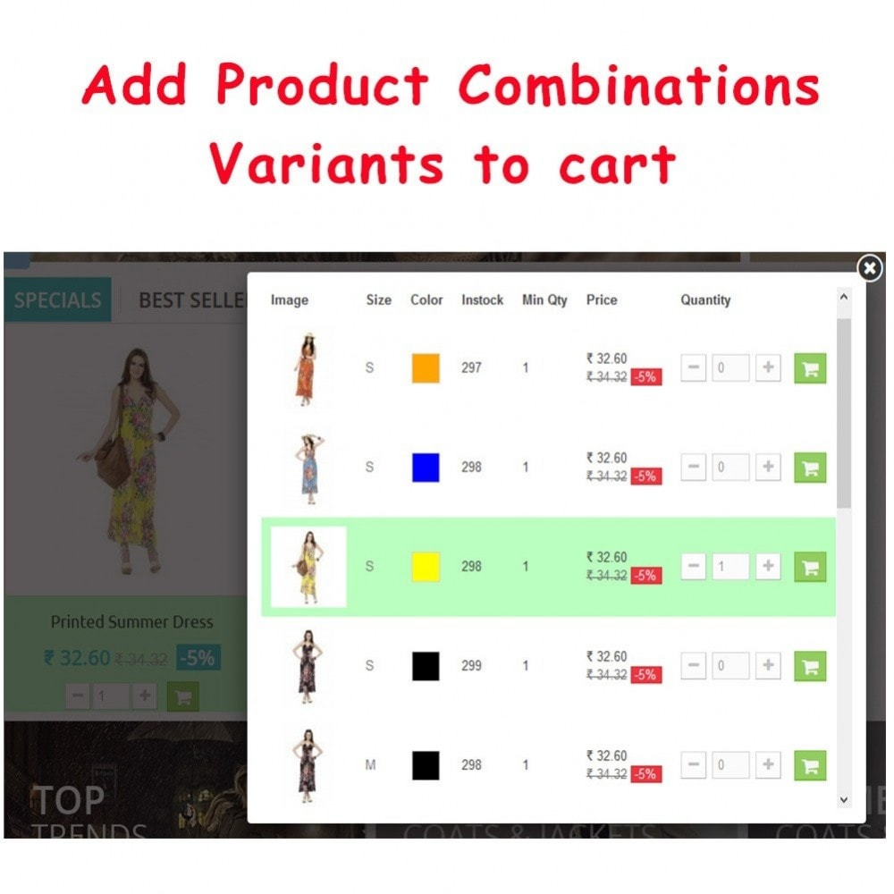 module - Proceso rápido de compra - Quick Add to Cart Products Combinations with Quantity - 6