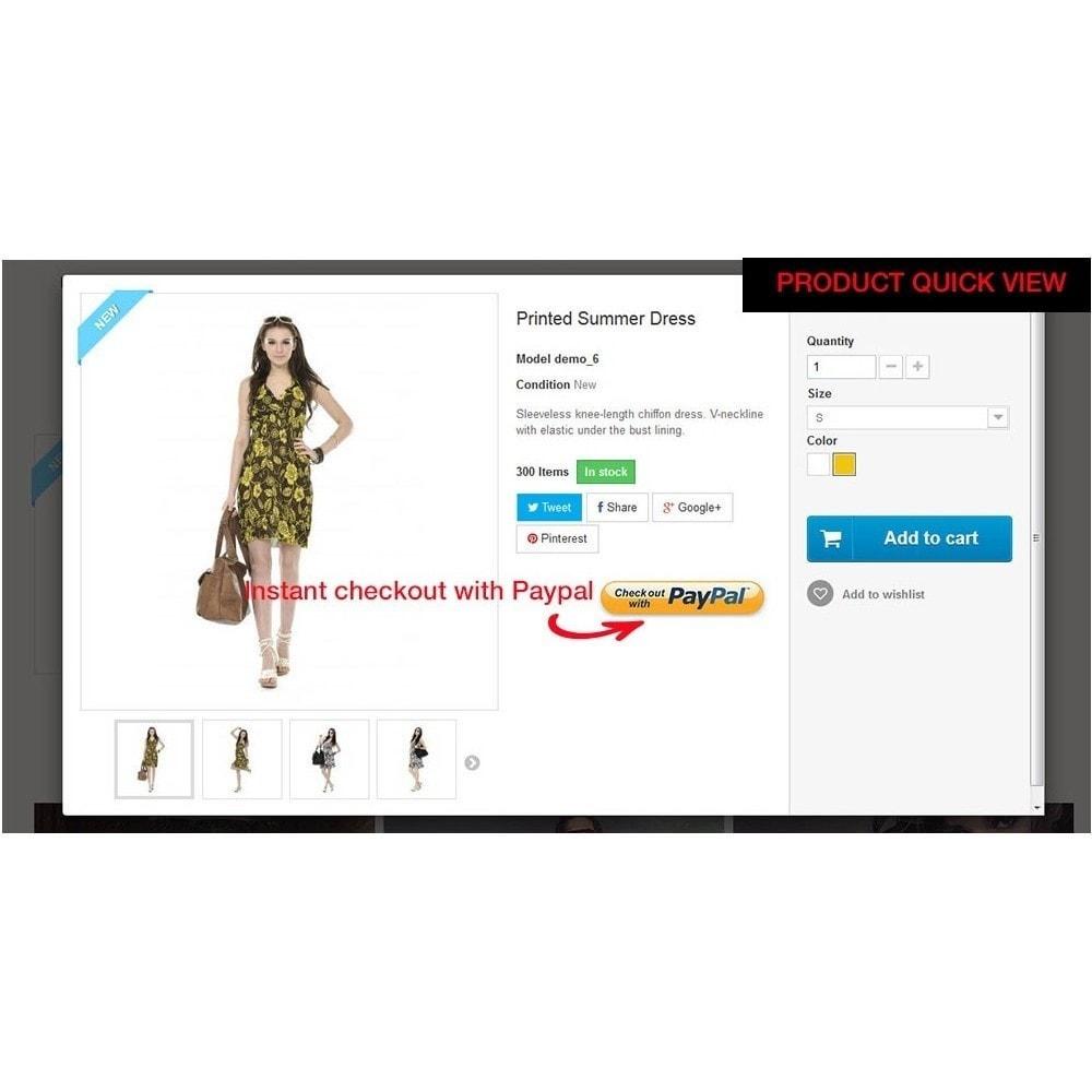 module - Szybki proces składania zamówienia - Paypal Instant Checkout - 8