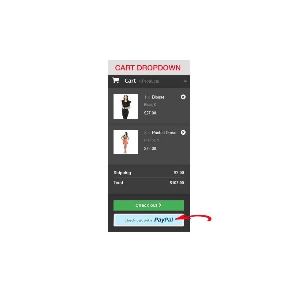 module - Szybki proces składania zamówienia - Paypal Instant Checkout - 9