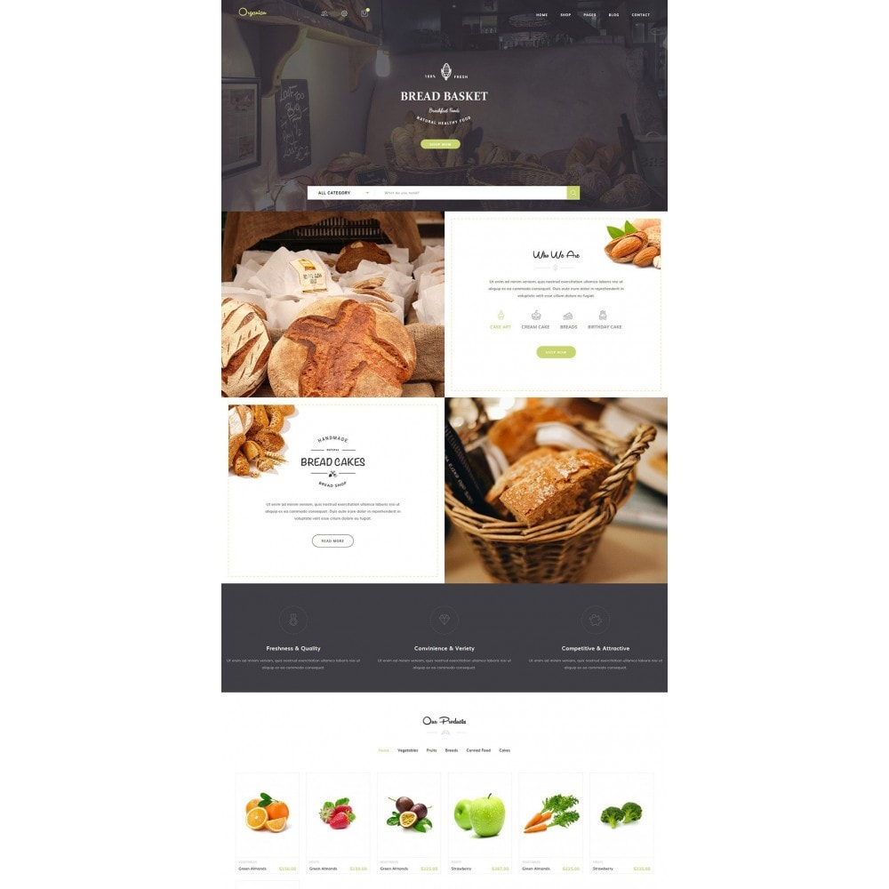 theme - Alimentation & Restauration - JMS Organian - 5
