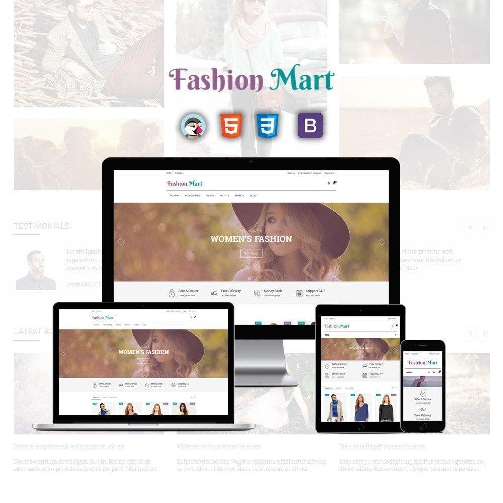 theme - Moda & Calzature - Fashion Mart Store - 1