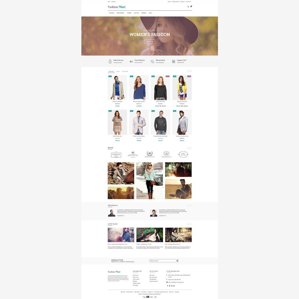 theme - Moda & Calzature - Fashion Mart Store - 2