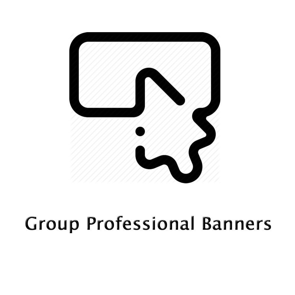 module - Blocchi, Schede & Banner - Group Professional Banners - 1