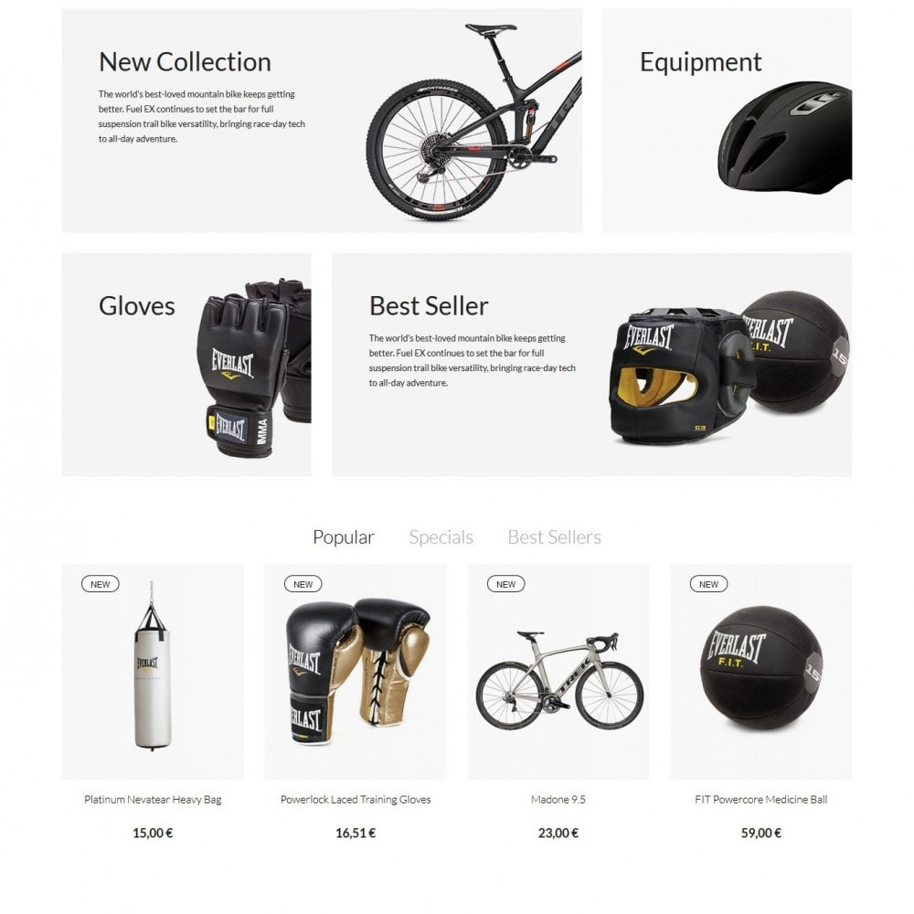 theme - Sports, Activities & Travel - Passion - Sport Store - 3