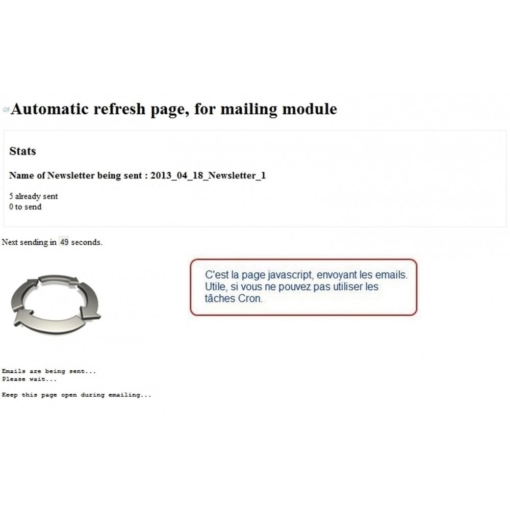 module - Newsletter & SMS - Mailing and Newsletter - 5