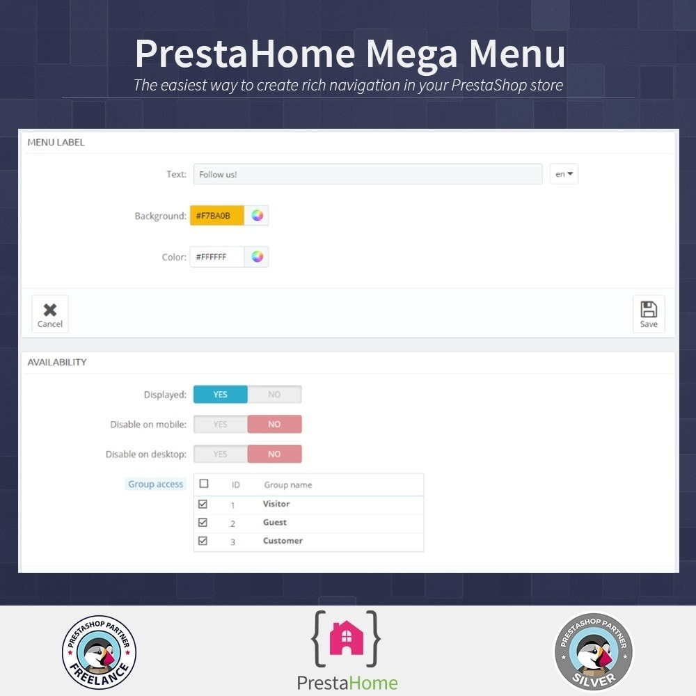 module - Меню - Mega Menu, rich navigation - 6