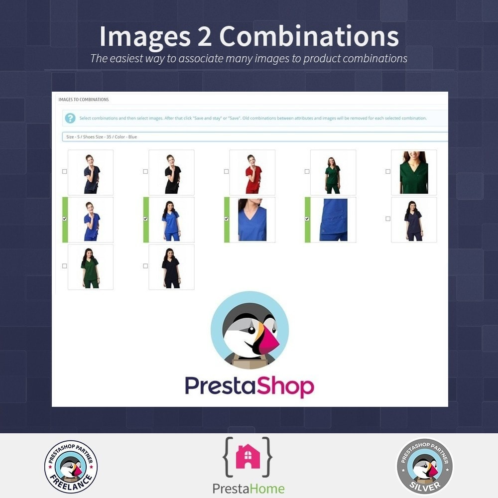 module - Combinations & Product Customization - Images to combinations - quick method - 1