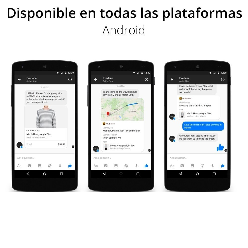 module - Asistencia & Chat online - Messenger Chat en vivo - para red social - 4