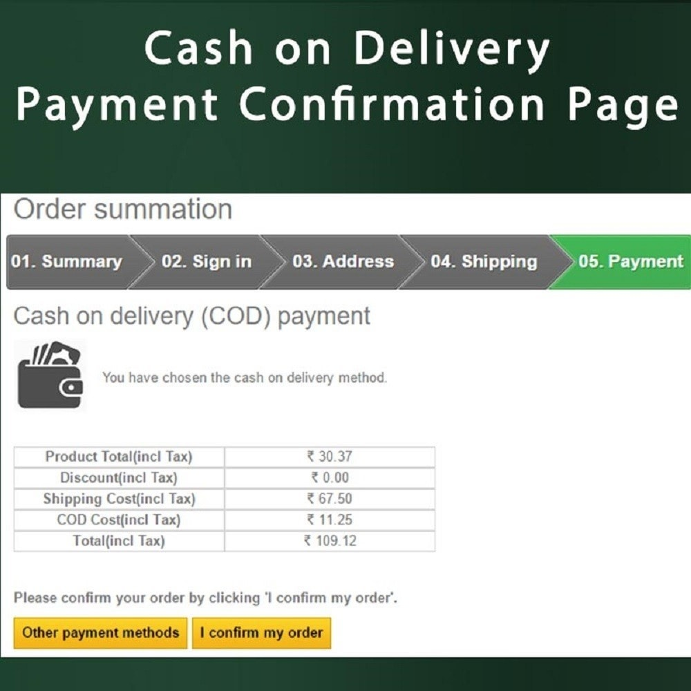 module - Pagamento alla Consegna (in contrassegno) - Cash on Delivery COD & Shipping Fee by Zipcode, Product - 4
