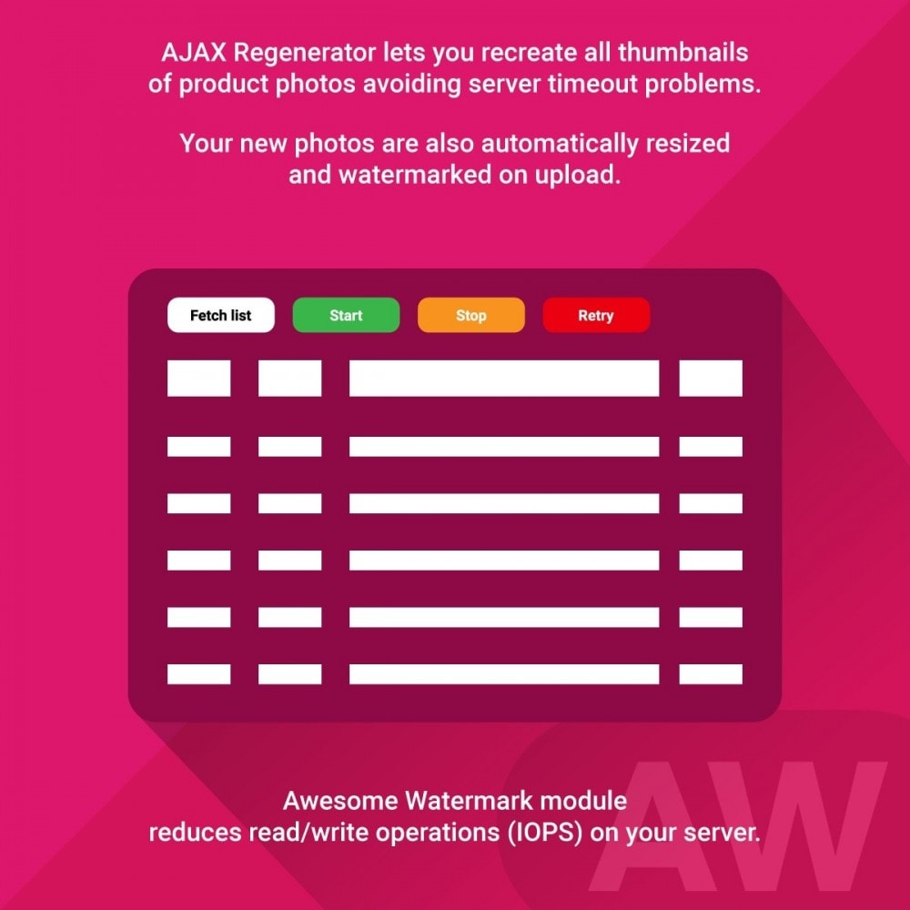 module - Badges & Logos - Awesome watermark and AJAX product photo regeneration - 5