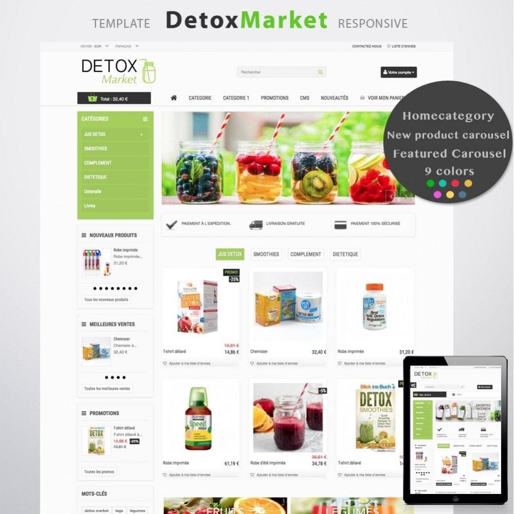 theme - Saúde & Beleza - Detox Market - 1