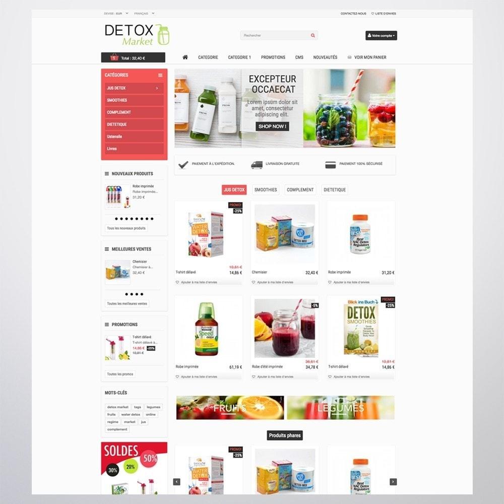 theme - Gesundheit & Schönheit - Detox Market - 2