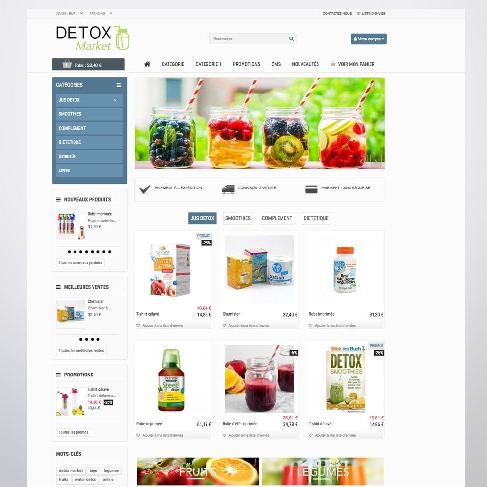 theme - Saúde & Beleza - Detox Market - 3