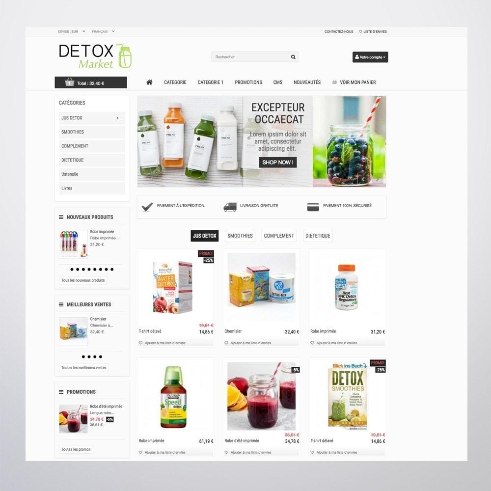 theme - Gezondheid & Schoonheid - Detox Market - 4